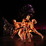 Dancers: Alvaro Palau with Alicia Curtis (Dustin Kimball and Michelle De Fremery in background) Dance: Le Sacre du Printemps Photo: John McCauley